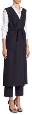 Victoria Beckham Wool Wrap Gilet