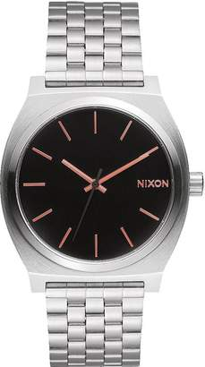 Nixon Men's Time Teller A0452064 Stainless-Steel Automatic Watch