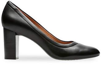 Clarks ARTISAN Chryssa Ari Block Heel Dress Pump Shoes