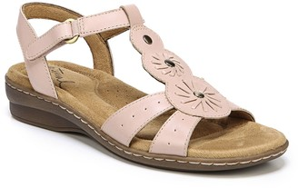 Naturalizer By by Barroll Women's Leather Sandals