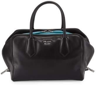 Prada Bauletto Handbag Black