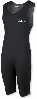 L.L. Bean L.L.Bean Men's Superstretch Titanium Sleeveless Shorty Wet Suit