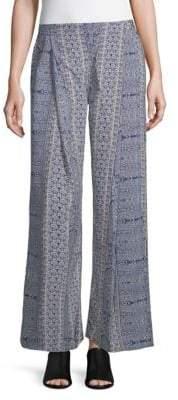 Raga Milos Printed Wide-Leg Pants