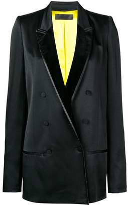 Haider Ackermann tuxedo double breasted blazer