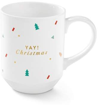 Fringe Studio Yay Christmas Mug