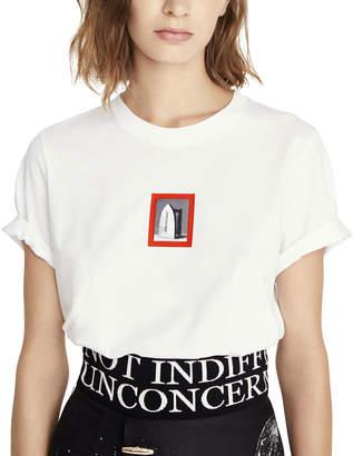 Schiaparelli Short-Sleeve Iron Graphic T-Shirt