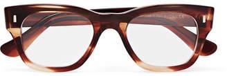 Cutler and Gross Square-Frame Tortoiseshell Acetate Optical Glasses