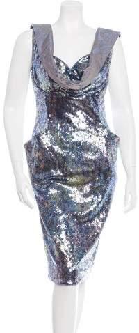 Vivienne Westwood Sequined Sheath Dress