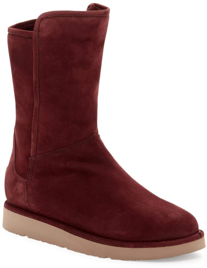 UGG UGG Australia Abree Genuine Shearling Short Zip Boot