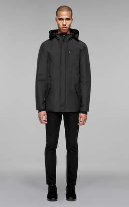 Mackage SHAWN 2-in-1 rain jacket with removable down liner