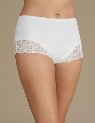 Marks and Spencer 2 Pack Light Control Secret SlimmingTM Brazilian Knickers