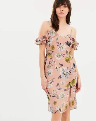 Camellia Frill Sleeve Dress
