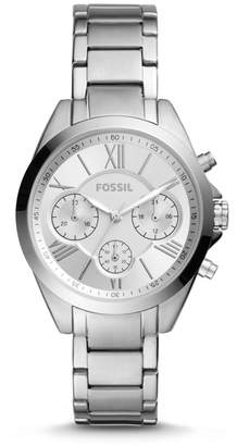 Fossil Modern Courier Midsize Chronograph Stainless Steel Watch