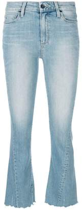 Paige cropped bootcut jeans