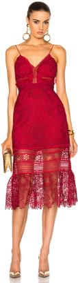 self-portrait Floral Blush Midi Dress $475 thestylecure.com