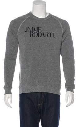Rodarte Graphic Raglan Sweatshirt
