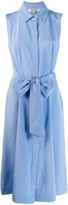 Diane von Furstenberg sleeveless midi shirt dress