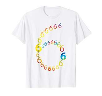 6 Year Old Birthday - 6th B-Day | Number 6 T-Shirt