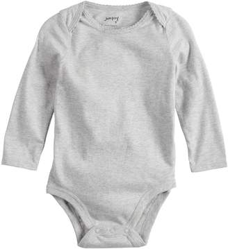 f4747f2da0 Baby Girl Jumping Beans Picot Solid Bodysuit
