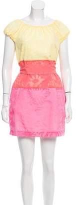 Lilly Pulitzer Colorblock Mini Dress