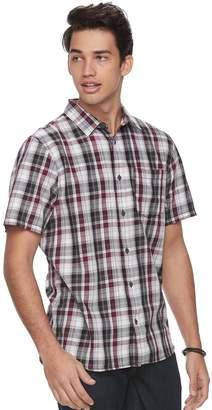 Vans Men's Plaid Button-Down Shirt
