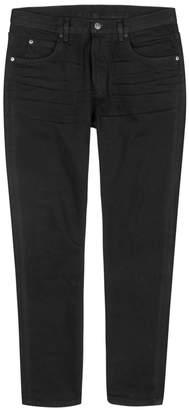 Helmut Lang Mr 87 Black Slim-leg Jeans