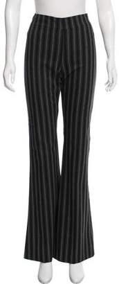Avenue Montaigne Mid-Rise Striped Pants w/ Tags