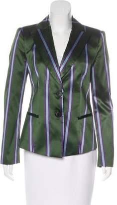 Emporio Armani Satin Striped Blazer w/ Tags