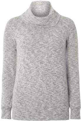 Dorothy Perkins Womens Grey Cowl Neck Top