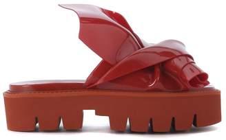Kartell N°21 Loves Model Knot Red Pvc Slipper