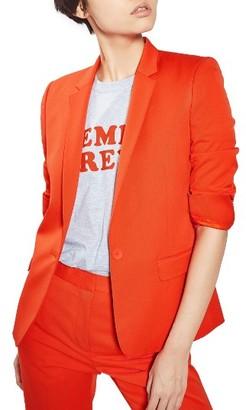 Women's Topshop Tailored Suit Jacket $125 thestylecure.com