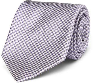 Ralph Lauren Gingham Silk Narrow Tie