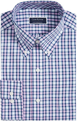 Club Room Men Big & Tall Classic-Fit Plaid Shirt