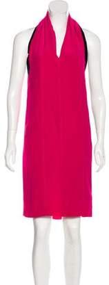 Maison Margiela Colorblock Silk Dress w/ Tags