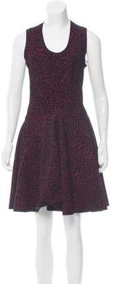 Alaia Fit and Flare Mini Dress w/ Tags