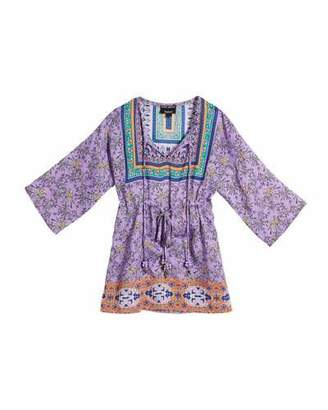 Tolani Lily Grace Long-Sleeve Printed Tunic, Size 2T-6X