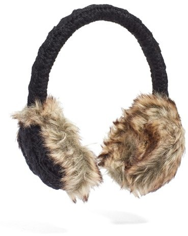 Nirvanna Designs Cable Knit Earmuffs