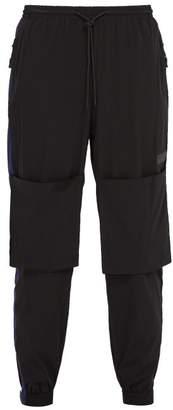 PAM Odyssey Stretch Nylon Track Pants - Mens - Black