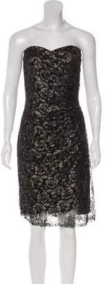 Rebecca Taylor Metallic Lace Dress w/ Tags