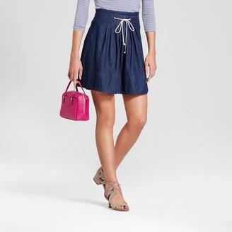 Merona Women's Denim Tie Front Skirt $19.99 thestylecure.com