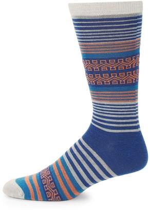 UGG Men's Striped Crew Socks
