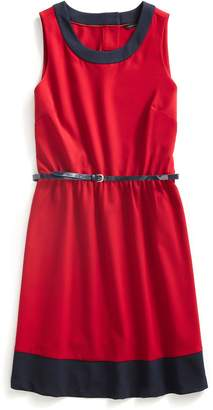 Tommy Hilfiger Belted Sleeveless Dress