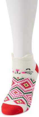 Women's SO No-Show Novelty Animal Socks