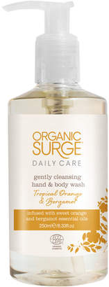 Organic Surge Tropical Orange and Bergamot Hand and Body Wash (250ml)
