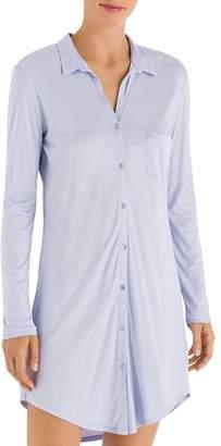 Hanro Grand Central Boyfriend Sleepshirt