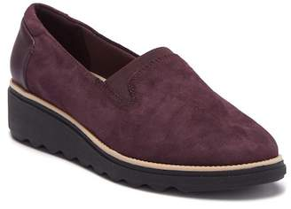 Clarks Sharon Dolly Wedge Loafer