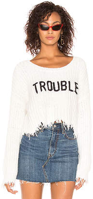 Wildfox Couture Trouble Storm Sweater