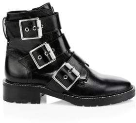 Rag & Bone Cannon Buckle Leather Boots