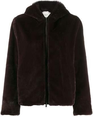 Vince Soft hooded jacket