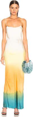 John Elliott for FWRD Myrrh Slip Dress in Gradient | FWRD